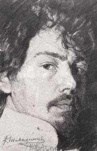 Олексій Шовкуненко. Автопортрет.1910