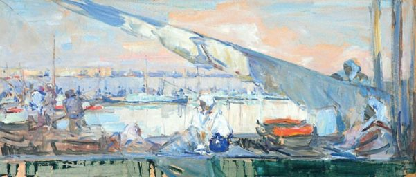 Олексій Шовкуненко. Херсон. Зелений базар. 1950