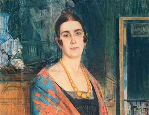 Олексій Шовкуненко. Портрет М.М. Фадєєвої. 1920