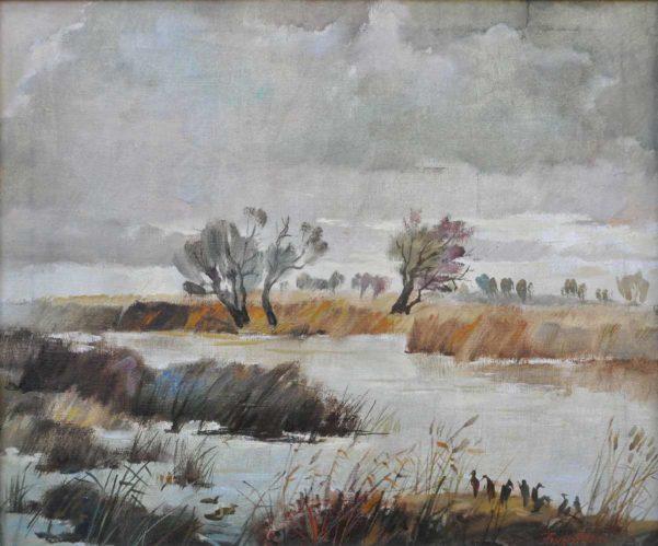 Анатолій Биков. Дніпровський лиман