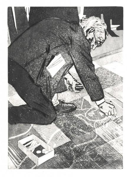 """Евальд Окас, """"Вуличний художник"""" (1962 р.)"""