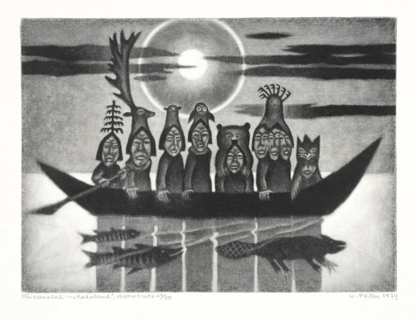 """Кальйо Піллу, """"Сонячна країна"""" (1974 р., з серії """"Пращури"""")"""