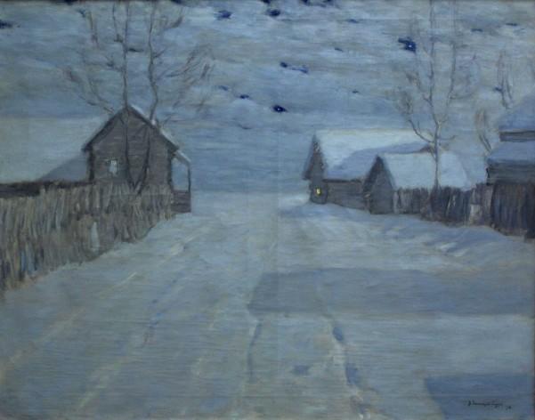 Бялиницький-Біруля Ж-13 Місячна ніч у селі